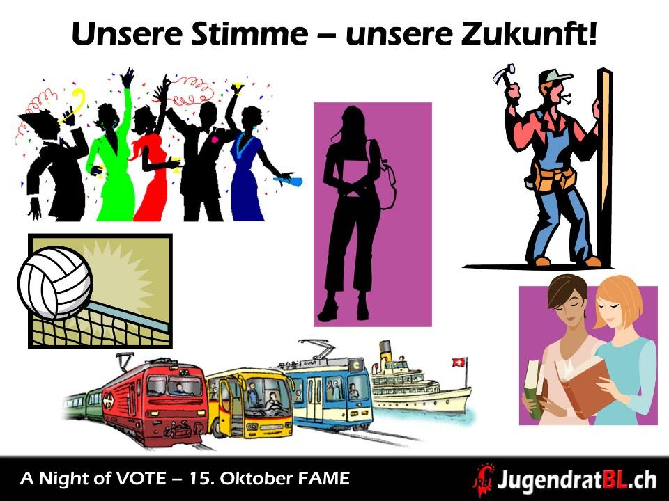 A Night Of Vote - Unsere Stimme - unsere Zukunft!